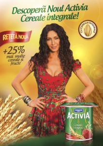 KV Relansare Activia Cereale Integrale