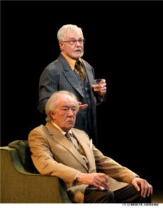 Sir Michael Gambon si Sir Derek Jacobi