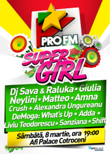 Concerte eveniment Super Girl_AFI Palace Cotroceni