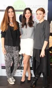 Ioana Vasii (stanga), Vanessa Dragan-PR, Raluca Leafu-Bon Bijou (dreapta)