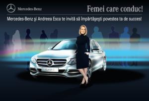 MB Clasa C & Andreea Esca - Femei care conduc
