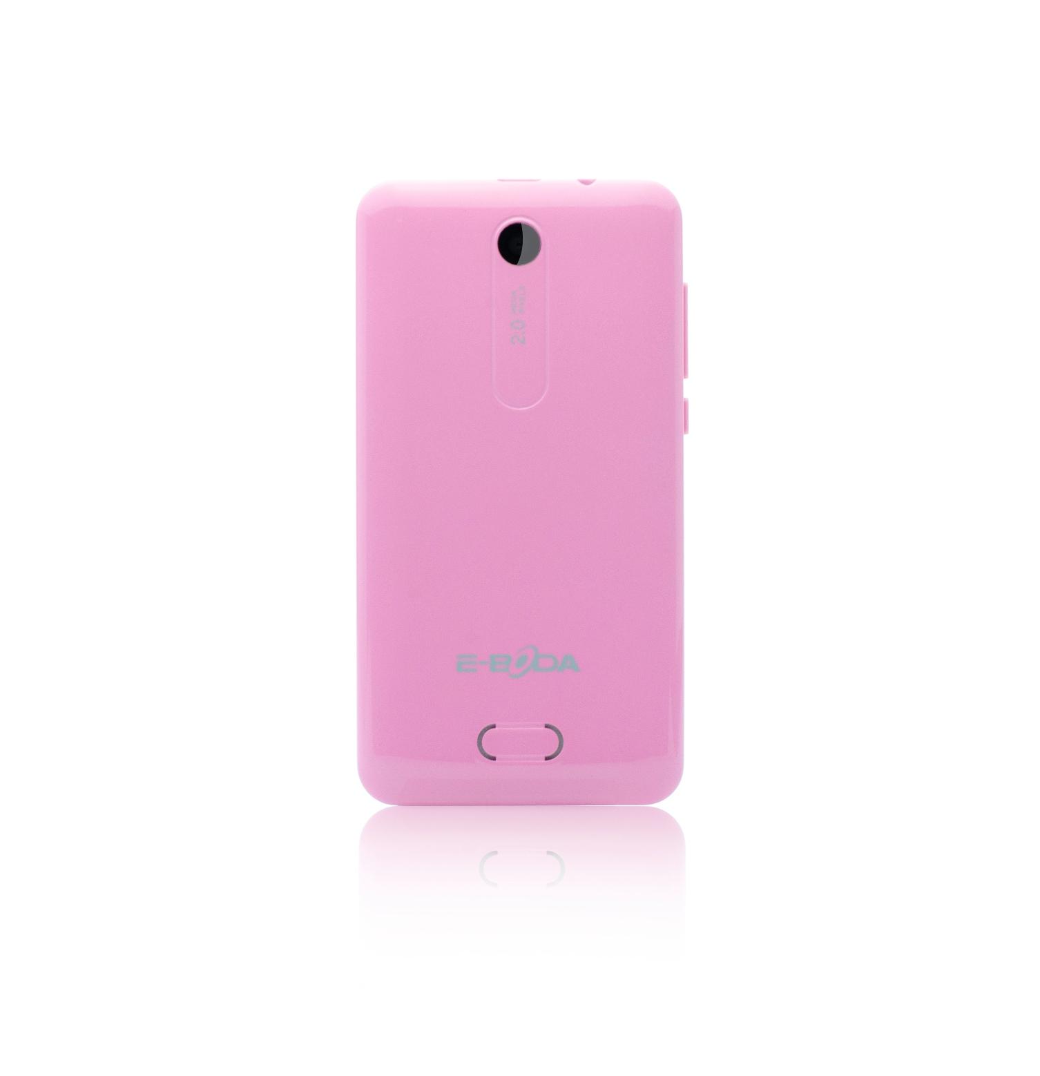V36 Spate Roz pe alb