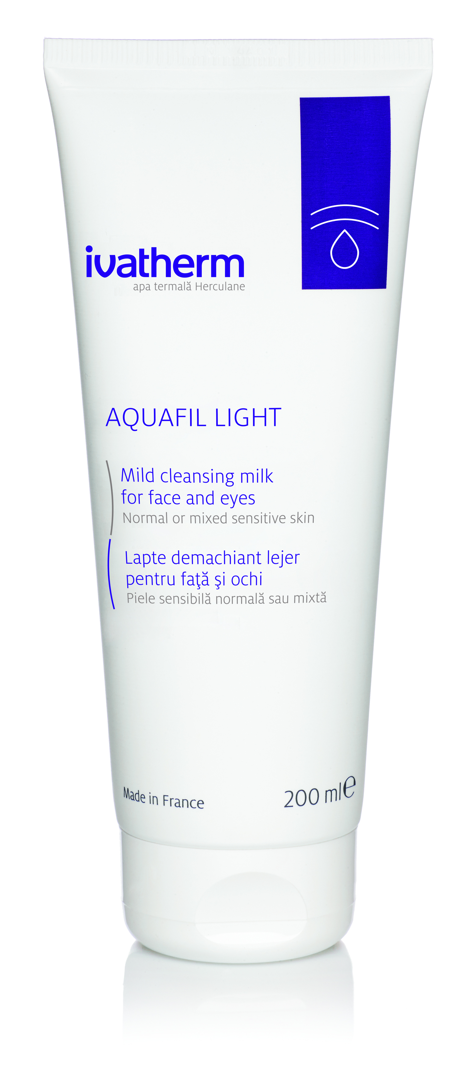 AQUAFIL LIGHT Mild cleansing milk for face and eyes 200 ML