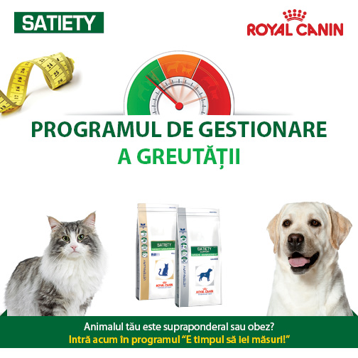Program Satiety Control_Royal Canin Romania