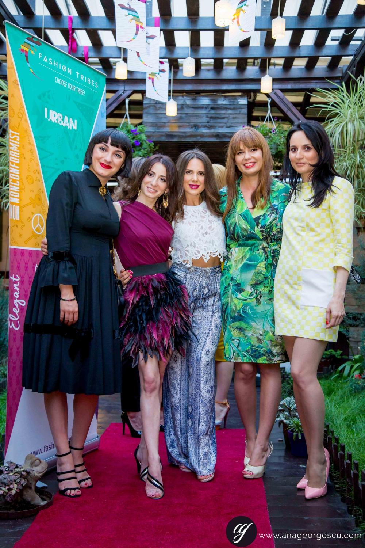 Ana Morodan, Ioana Giurea, Andreea Ali, Adina Mocanasu