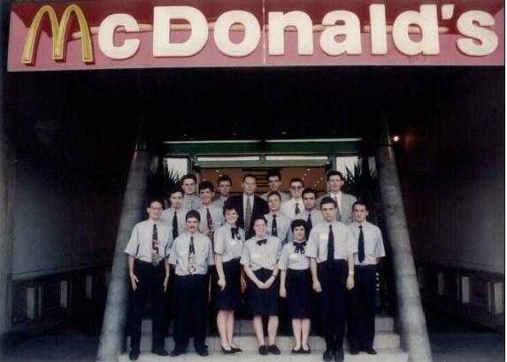 5. Poza restaurant unirea 1995