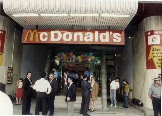 6. Poza restaurant unirea 1995