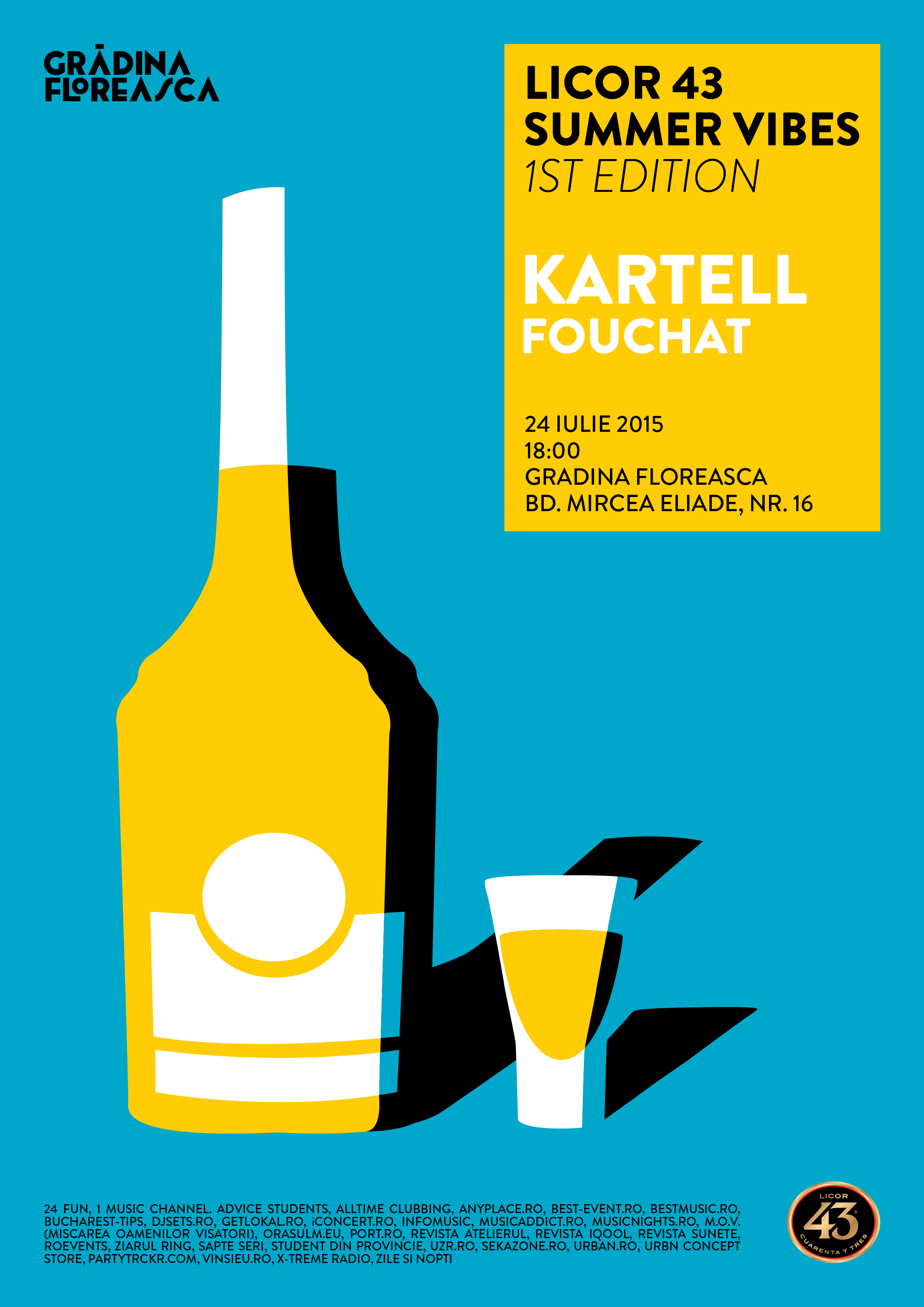 Licor 43 Summer Vibes 1st Edition- Kartell (1)