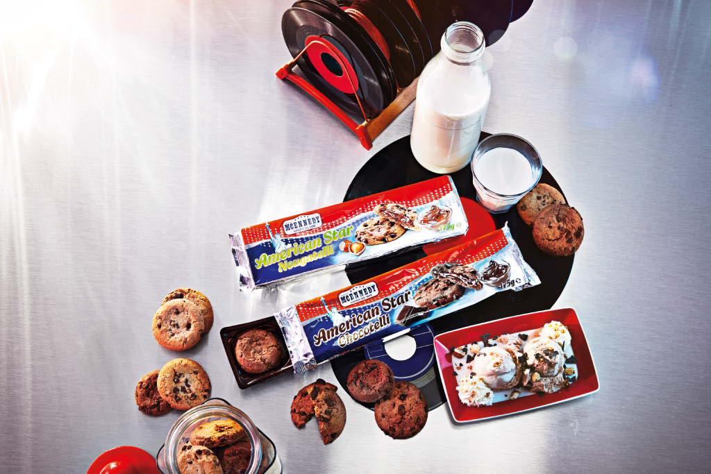 Biscuiti cu ciocolata diverse sortimente