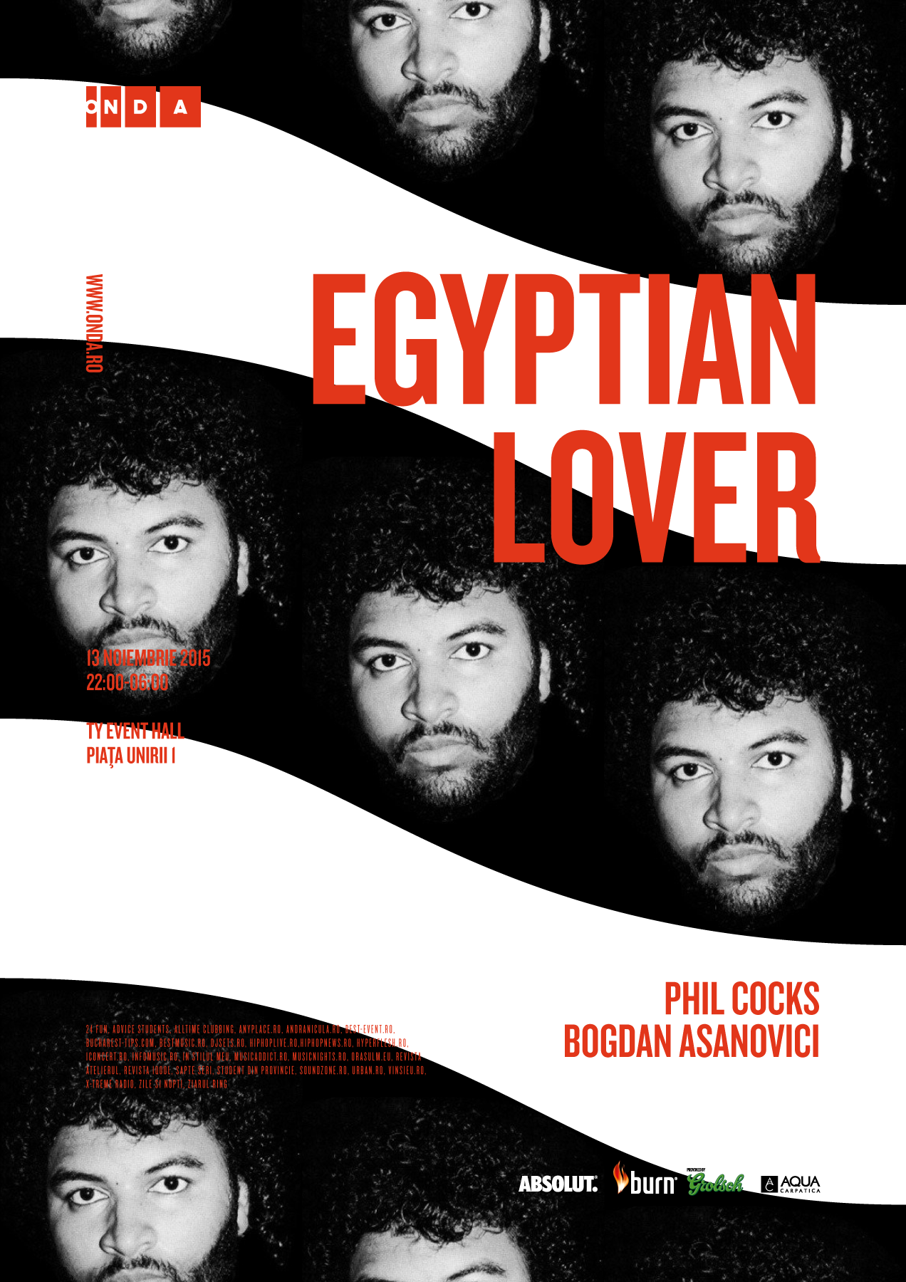 Onda - Egyptian Lover - 13 Nov