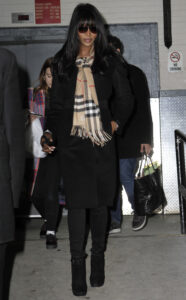 Naomi Campbell seen in NYC