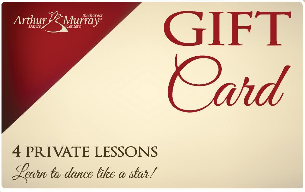 giftcard Arthur Murray_1