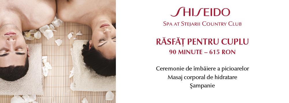 Oferta lunii Shiseido Spa