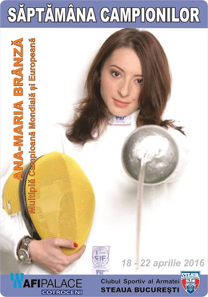 Ana-Maria Branza_Multipla campioaana Mondiala si Europeana _Scima