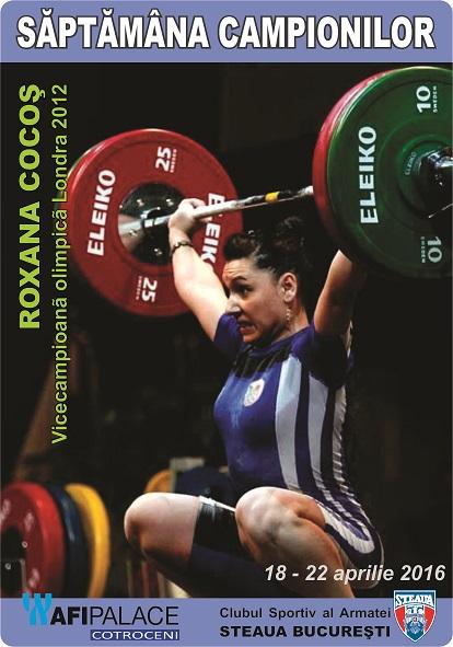 Roxana Cocos_Vicecampioana olimpica Londra 2012_Haltere