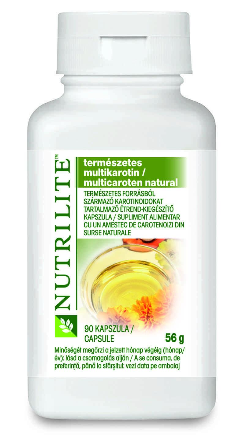 Product mockup/packshot of Natural Multi Carotene