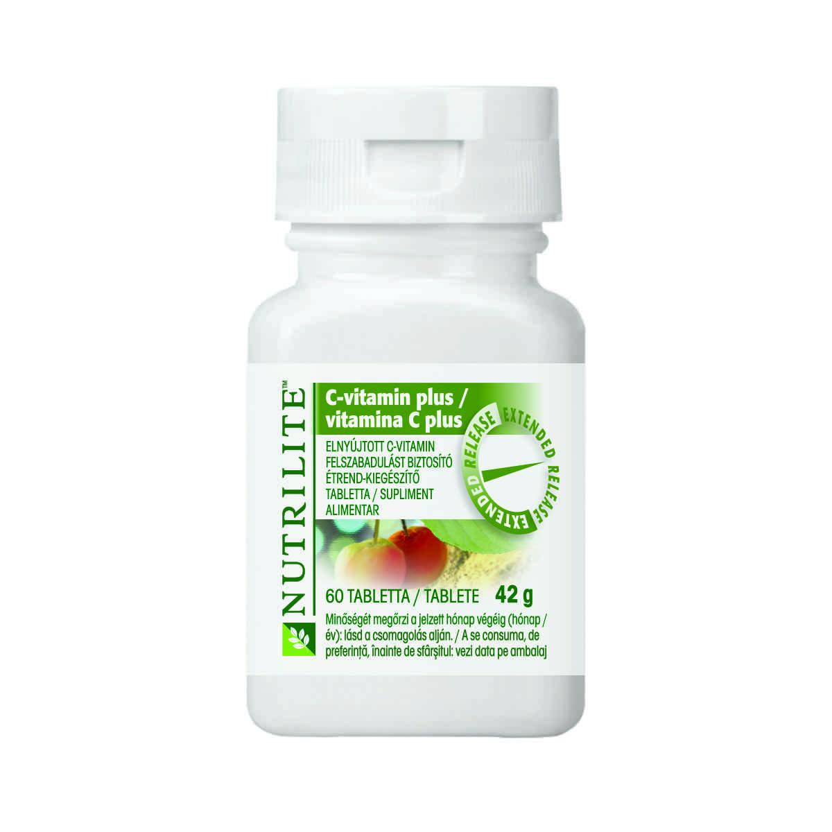 Product mockup/packshot for Vitamin C Plus 109741 109743