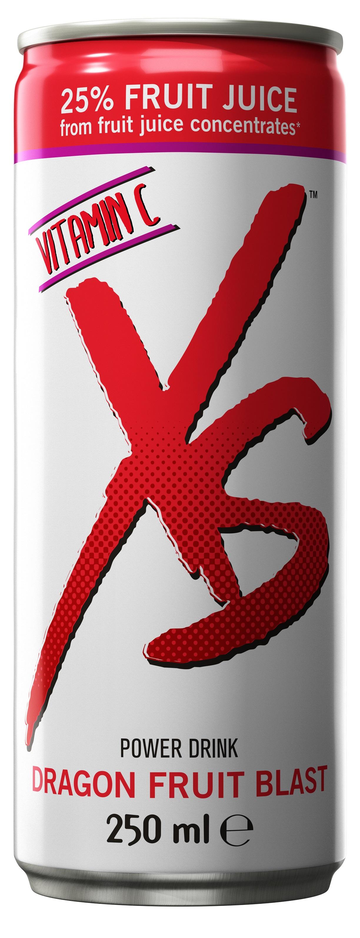 XS Power Drink Dragon Fruit