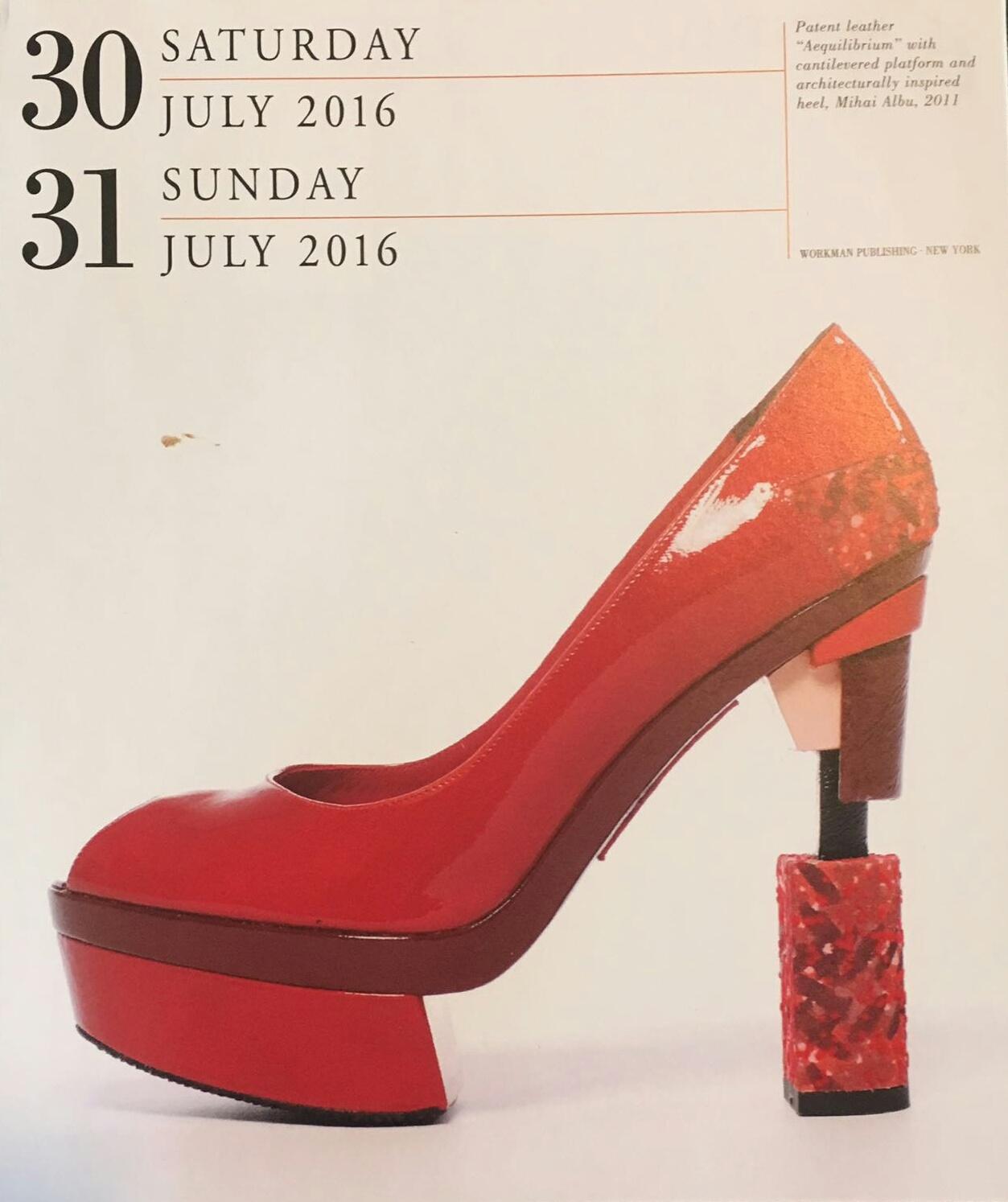 Designul romanesc sarbatorit pe 30 iulie in calendarul international al pantofilor