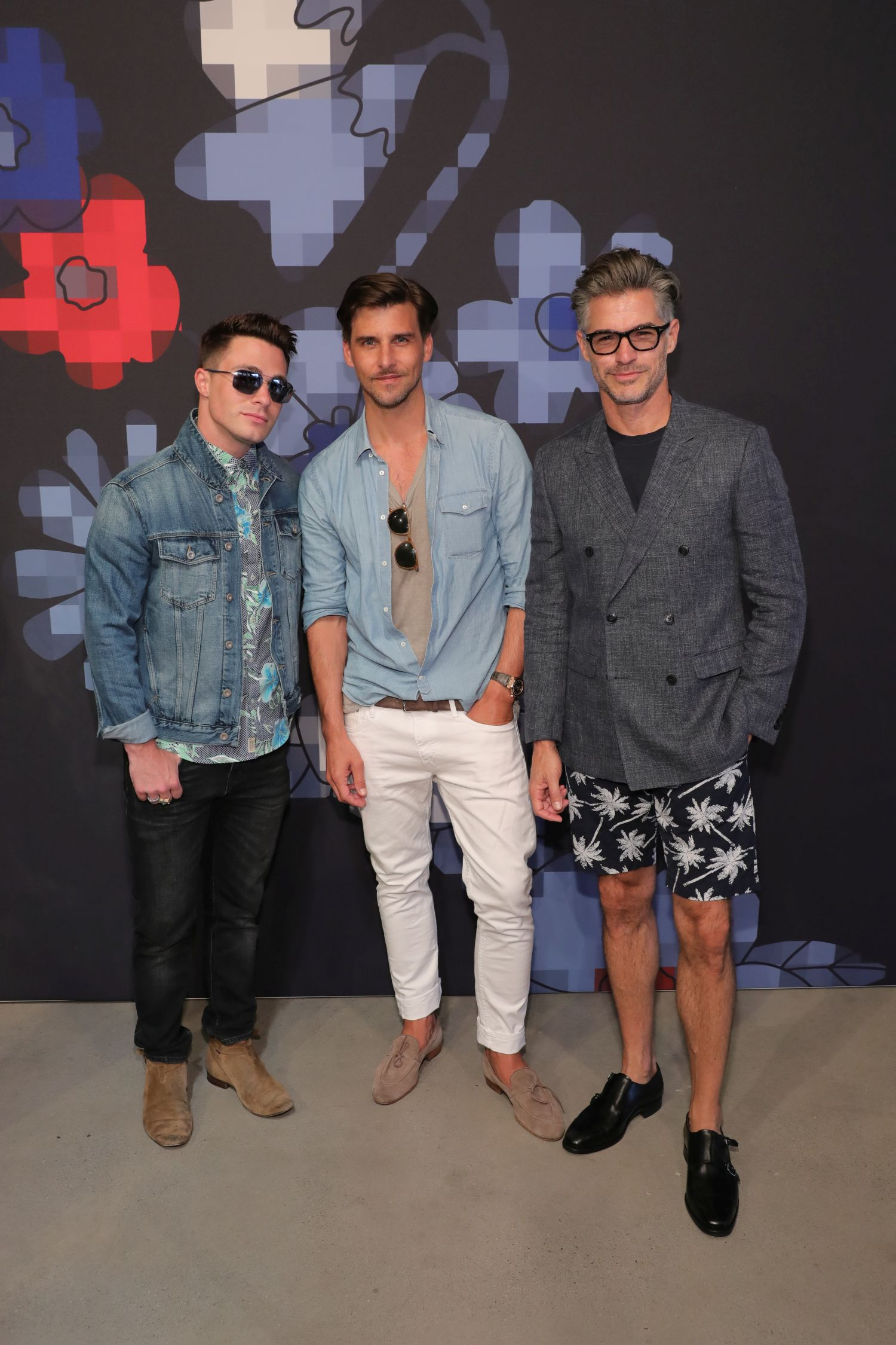 Tommy Hilfiger Spring 2017 Men's Tailored Collection Presentation at Skylight at 60 10th Avenue on July 6, 2016 in New York City.