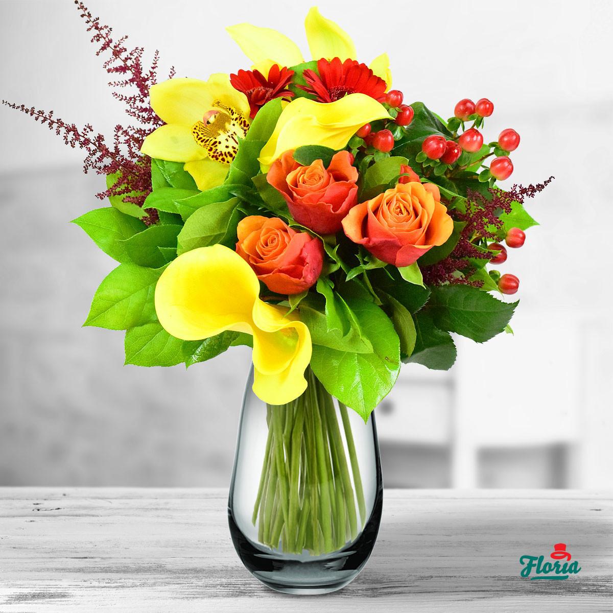 floria-buchet-cu-cale-si-trandafiri-33855